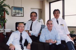 Prof.Kasai, Prof. Dessanti, Prof. Caccia
